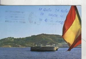 Postal 4497 : Muelle Alfau y Fortaleza del hacho en Ceuta