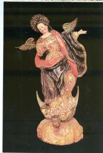 Banco Central del Ecuador, Museo Nacional, Virgen de Quito, unused Postcard