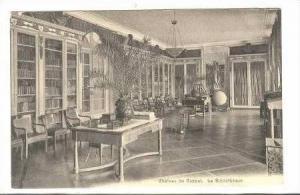 Interior, Chateau de Coppet, Vaud, Switzerland, 00-10s  La Bibliotheque / Lib...