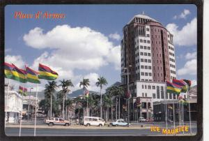 BF17761 ile maurice mauritius place  d armes car voiture front/back image