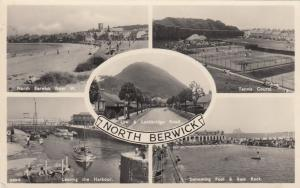 RP; NORTH BERWICK , UK , 30-40s ; 5 view PC