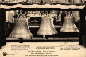 CPA Les Trois Nouvelles Cloches d'Hautmont (136194)