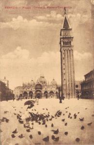 Italy Venezia Piazza Chiese San Marco e Campanile 02.90