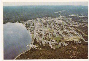 Canada A Birds Eye View Of The Progressive Community  Of Wawa Ontario