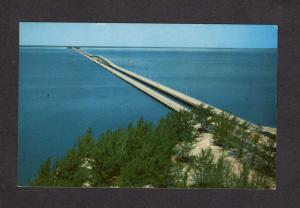 FL Gandy Bridge Tampa Bay St Petersburg Florida Postcard Aerial View