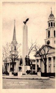 Connecticut Meriden World War Memorial