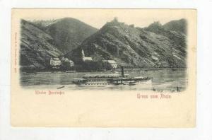 Gruss Vom Rhein, Kloster Bornhofen (Rhineland-Palatinate), Germany, 1900-1910s