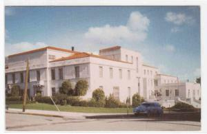 Court House Car San Luis Obispo California 1950s postcard