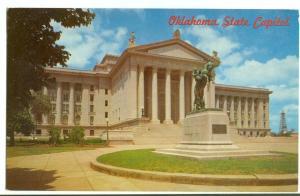 Oklahoma State Capitol, Oklahoma City, unused Postcard