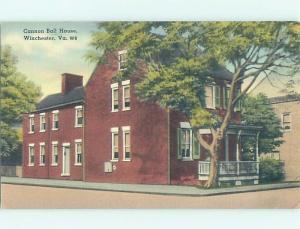 Unused Linen HISTORIC HOME Winchester Virginia VA W3999