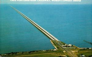 Louisiana New Orleans Lake Pontchartrain Causeway World's Longest Bridge