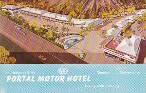 Portal Motor Hotel Hollywood California