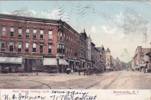 New York Gloversville Main Street Looking North 1907 sk2292