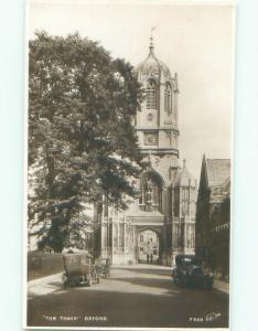 old rppc NICE VIEW Oxford England UK i2967