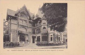 Maison Qu' Habitait Gounod Et Dans Laquelle Il Mourut, Saint-Cloud, Paris, Fr...