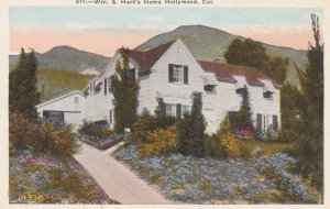 HOLLYWOOD, California, 1910s; Wm. S. Hart's Home
