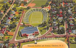 Memorial Stadium and Armory Charlotte, North Carolina, NC, USA Unused