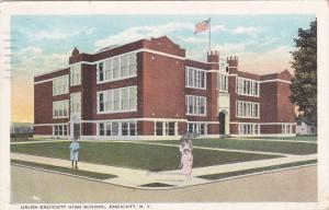 ENDICOTT, New York, PU-1925; Union Endicott High School