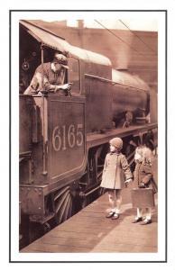 Nostalgia Postcard 4-6-0 Royal Scot No.6165 The Ranger Reproduction Card NS48