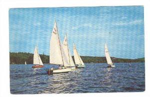 Race Day for Sailboats,40-60s