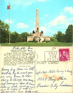 Abraham Lincoln Tomb, Springfield Illinois