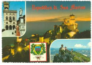 Repubblica di San Marino, used Postcard