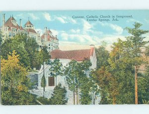 Linen CHURCH Eureka Springs - Near Rogers & Bentonville & Springdale AR AD1791