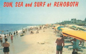 Postcard Sun and See at Rehoboth Beach Delaware