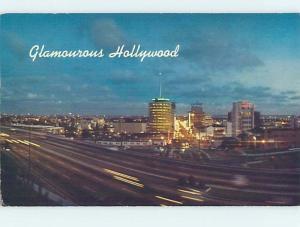 Unused Pre-1980 HOLLYWOOD FREEWAY Los Angeles California CA i0133