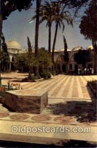Acre El Jazzar's Mosque - Cortyard Judaic, Judaica Postcard Postcards  Acre E...