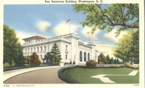 The Pan American Building, Washington, DC - Linen