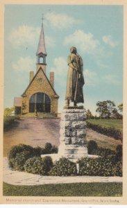 GRAND-PRE , Nova Scotia , 1930s ; Memorial Church