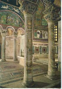 Italy, Ravenna, View of Apse, Left Wall, unused Postcard