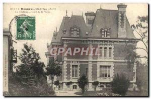 Old Postcard Rosnay l & # 39Hopital Chateau Cote de Voire the