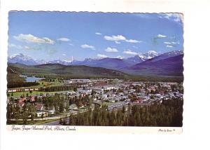 Town of Jasper, Jasper National Park,  Alberta, Photo Sutton
