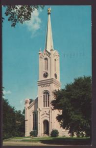 First Presbyterian Church,Gibson,MS Postcard BIN