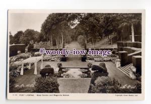 tq2030 - Kent - Magnolia Avenue in the West Gardens, at  Port Lympne - Postcard