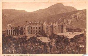 Palace of Holyrood House Edinburgh Scotland, UK Unused