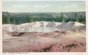 Paint Pot Yellowstone National Park Detroit Publishing