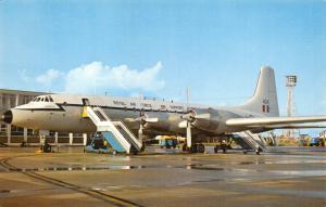 Postcard A Britannia of Air Support Command Royal Air Force RAF E97