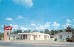 El Dorado Arkansas 1965 Postcard Whitehall Court Motel