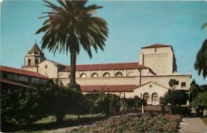 San Jose California~Civic Auditorium~1950s Postcard