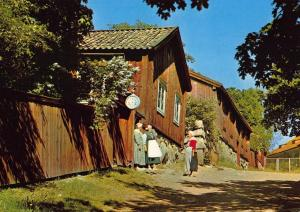 Vintage 1971 Postcard TURKU ABA Suomi FINLAND The Monastry Hill & Museum