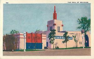 Hall of Religion Century of Progress Chicago Illinois World's Fair