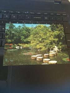 Vintage Postcard: Garden, The Heian Shrine