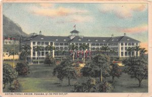 Hotel Tivoli, Ancon, Panama, Early Postcard, Unused