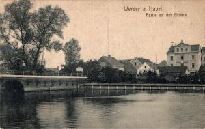 Germany Werder a. Havel Partie an der Brücke 02.33