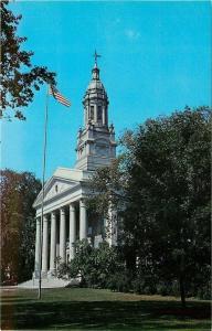 Appleton WI~Lawrence University Memorial Chapel~1960s Postcard