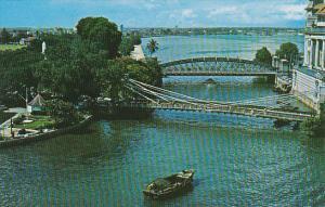 Singapore Cavanagh & Anderson Bridges