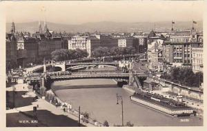 RP, Bridge, Kai, Wien (Vienna), Austria, 1910-1920s